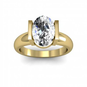 4MM Tension Setting Design Solitaire Natural