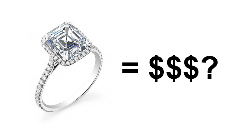 Are Asscher Cut Engagement Rings More Expensive?