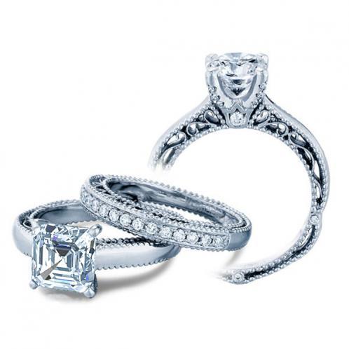 Venetian Designer Verragio Solitaire Diamond Engagement Ring