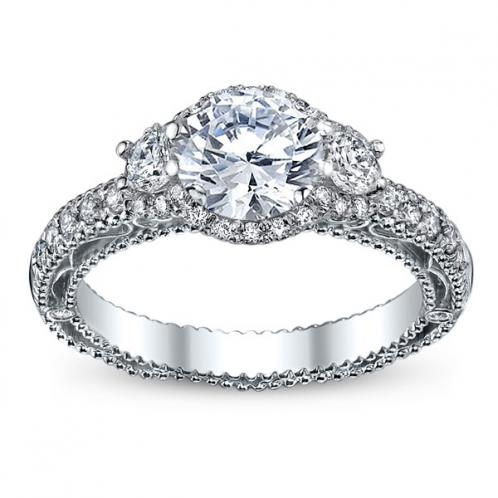 Infinity Verragio Designer Diamond Engagement Ring