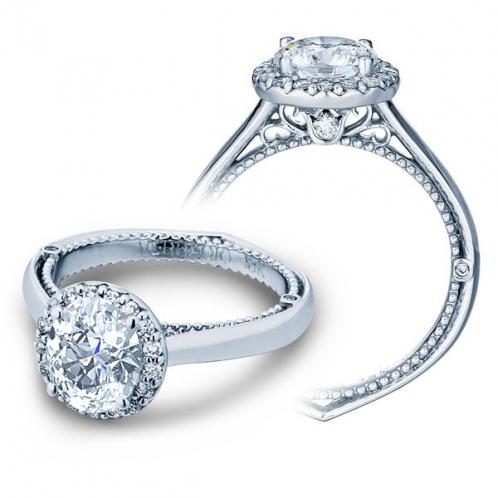 Designer Verragio Venetian Solitaire Diamond Engagement Ring