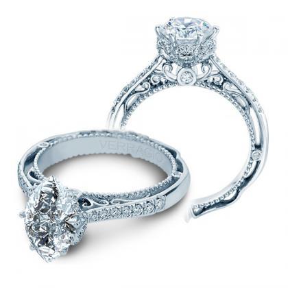 Designer  Marquise Cut Halo Engagement Rings