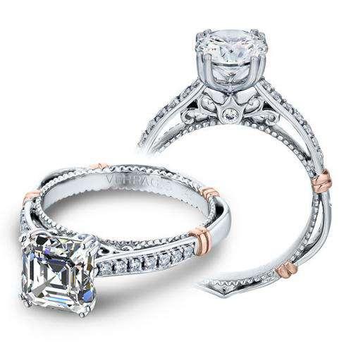 Verragio Parisian Pave Designer Engagement Ring