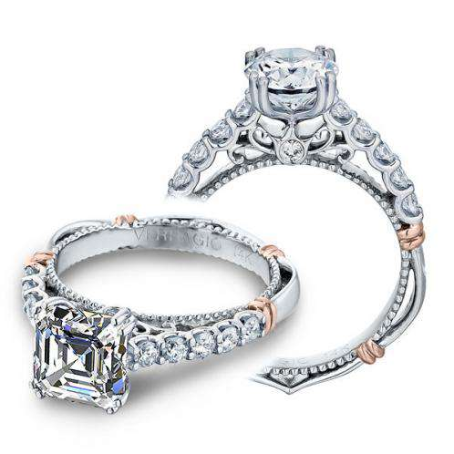Verragio Parisian Pave U-Prong Designer  Engagement Ring
