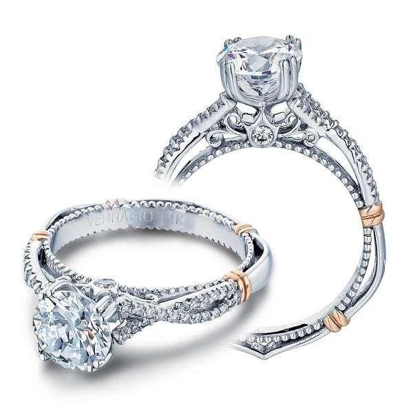 Verragio Parisian Pave Infinity Designer Engagement Ring