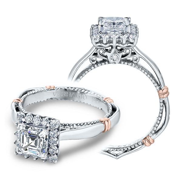 Verragio Parisian Halo Designer Engagement Ring