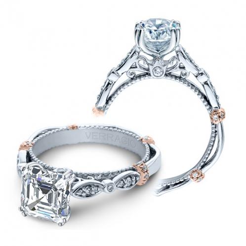 Verragio Parisian Pave Cluster Infinity Designer Engagement Ring