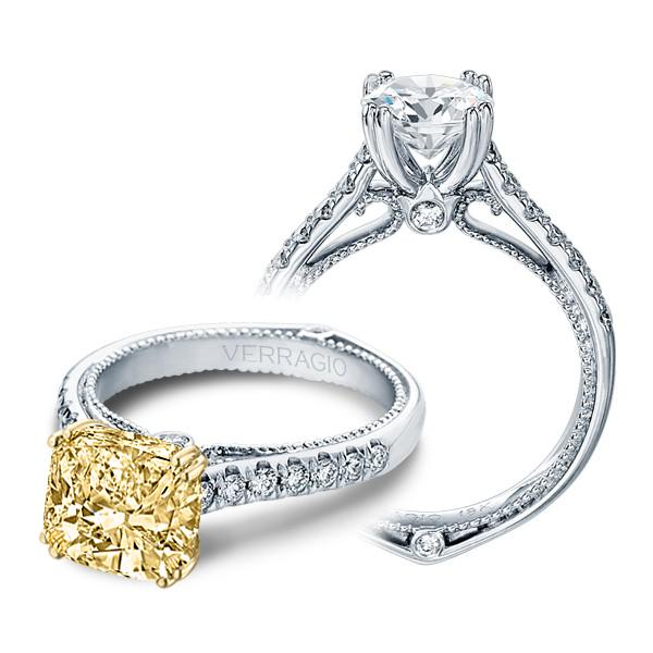 Verragio Pave Couture Designer Engagement Ring
