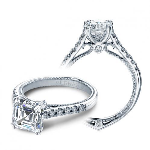 Verragio Couture Designer Pave Engagement Ring