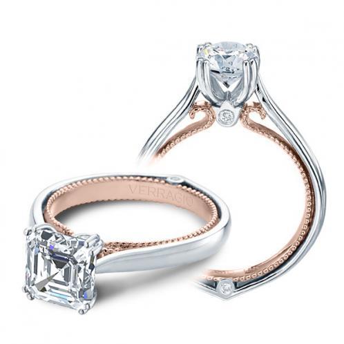 Couture Verragio Solitaire Designer Engagement Ring
