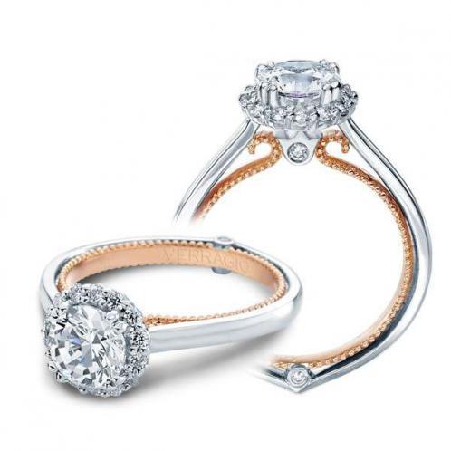 Verragio Couture Halo Designer Engagement Ring