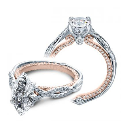 Verragio Marquise cut Engagement Rings