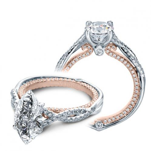 Verragio Couture Infinity Pave Designer Engagement Ring