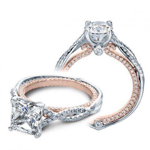 Verragio Couture Infinity Pave Designer Engagement Ring