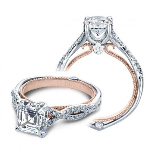 Verragio Couture Pave Infinity Designer Engagement Ring