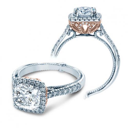 Verragio Halo Designer Couture Engagement Ring