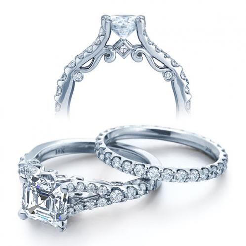 Verragio Insignia Split Shank U-Prong Diamond Engagement Ring