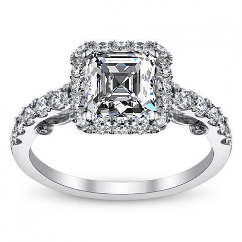Verragio Insignia U-Prong Split Shank Diamond Engagement Ring