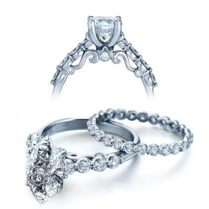 Simple Marquise cut Engagement Rings