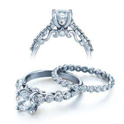 Simple Bridal Wedding Ring Sets