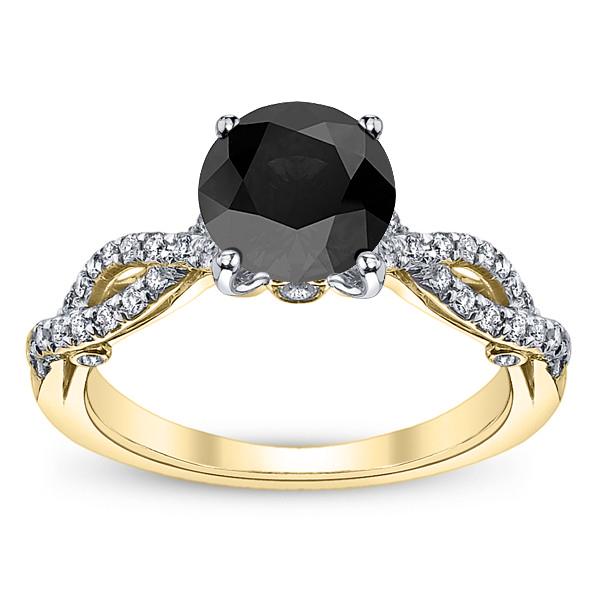Infinity Pave Insignia Verragio Vintage Natural Diamond Bridal Set