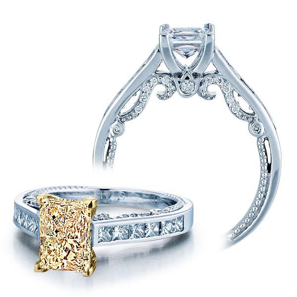 Channel set Verragio Insignia Natural Diamond Engagement Ring