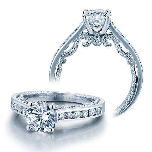 Verragio Invisible Set Insignia Natural Diamond Engagement Ring