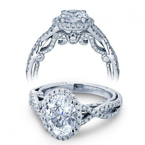 Verragio Halo Insignia Infinity Designer Engagement Ring