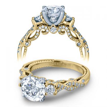 Verragio Yellow Gold Engagement Rings