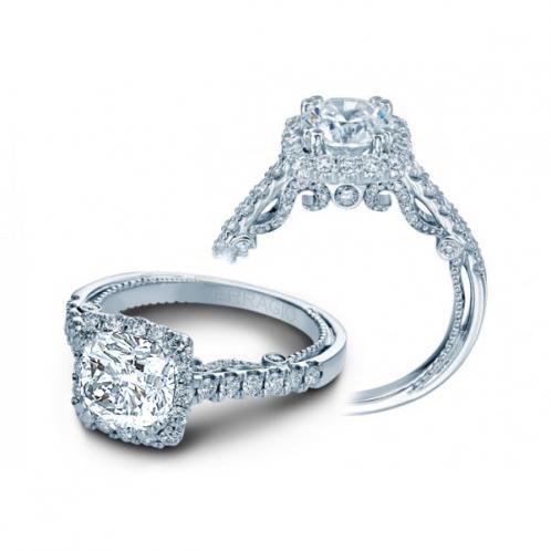 Verragio Halo Insignia Pave Designer Engagement Ring