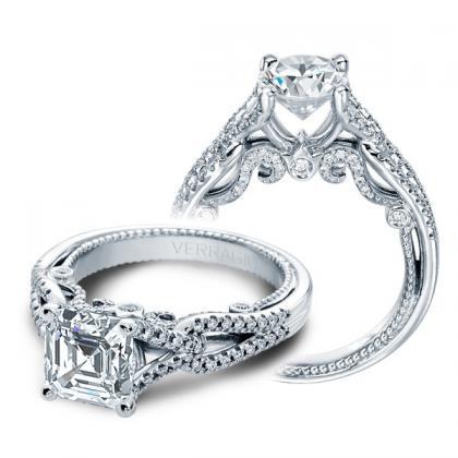 Split Shank Engagement Rings
