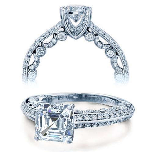 Verragio Micro Pave Paradiso Designer Engagement Ring