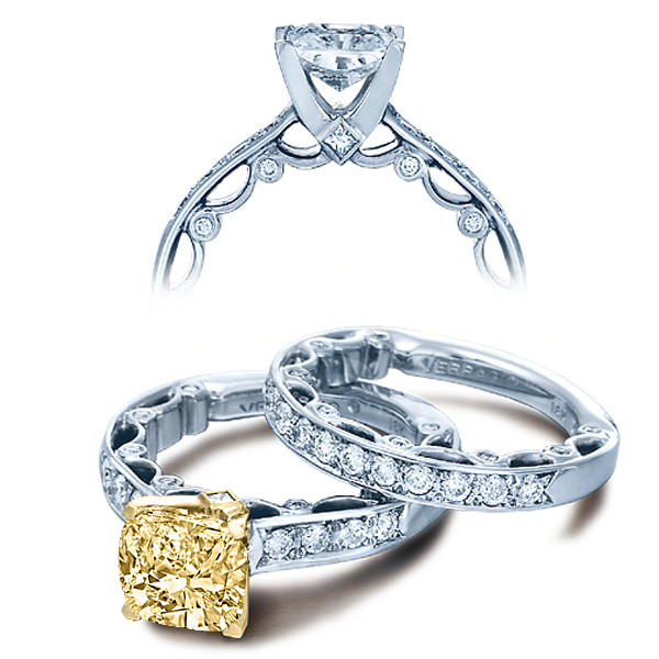 Verragio Pave Paradiso Designer Engagement Ring