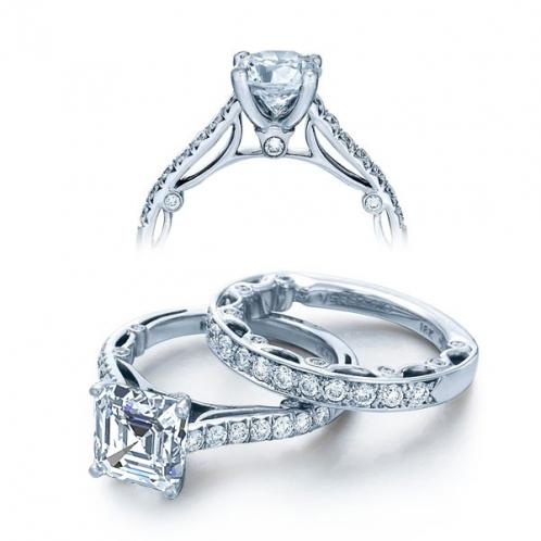 Verragio Paradiso Pave Designer Engagement Ring