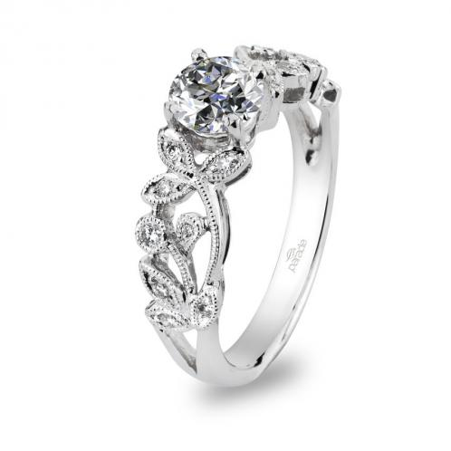 Parade Design Lyria Bridal Vines Pave Diamond Engagement Ring