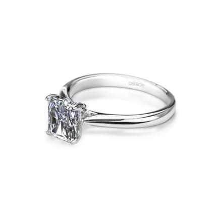 Designer  Radiant Cut Solitaire Engagement Rings