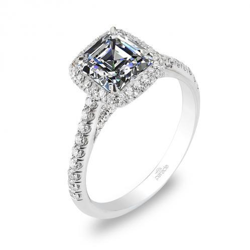 Parade Design Hemera Bridal Halo Pave Diamond Ring