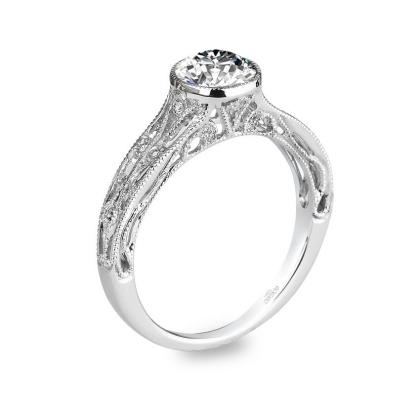 Classic Bezel Set Engagement Rings