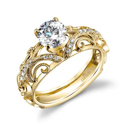 Classic Yellow Gold Engagement Rings