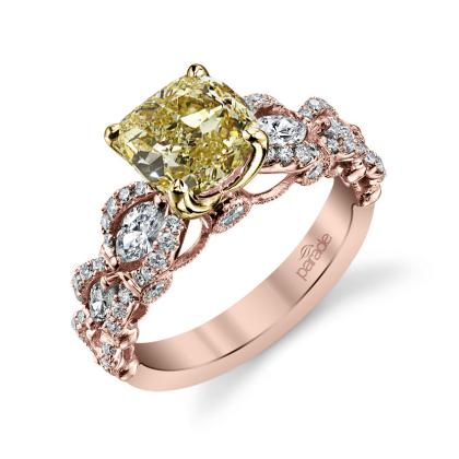 Unusual Yellow Diamond Engagement Rings