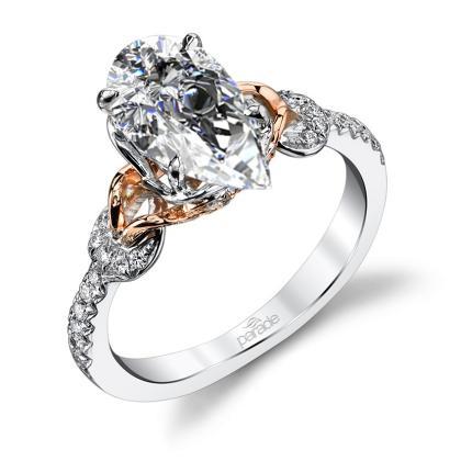 Classic Pear cut Engagement Rings