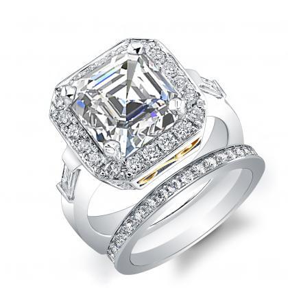 Euro Shank Bridal Wedding Ring Sets