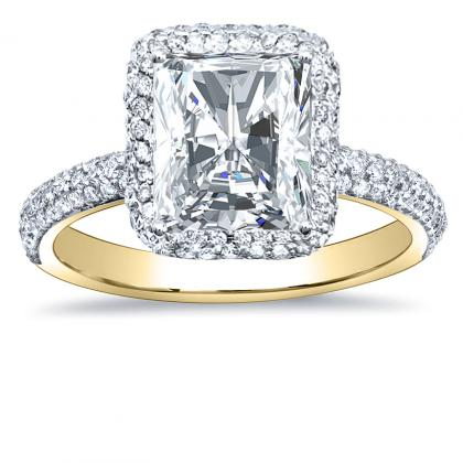 Radiant Cut Engagement Rings  Angelic Diamonds
