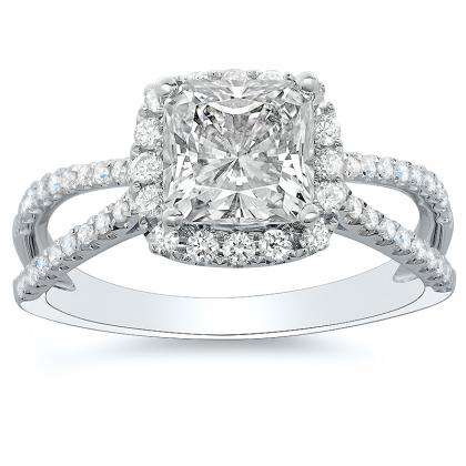 Classic Radiant cut Engagement Rings