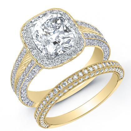 Yellow Gold Engagement Rings Design Your Own Images
