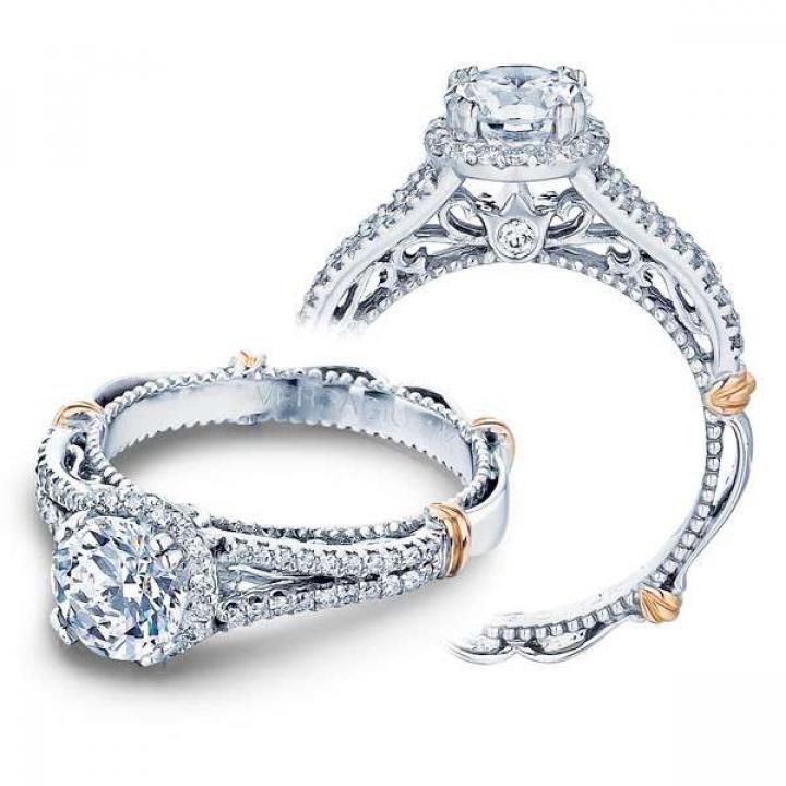 Modern Halo Engagement Rings