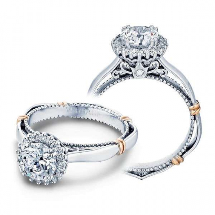 Contemporary Halo Engagement Rings