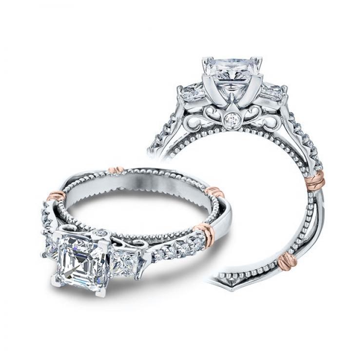 Bar Set Engagement Rings