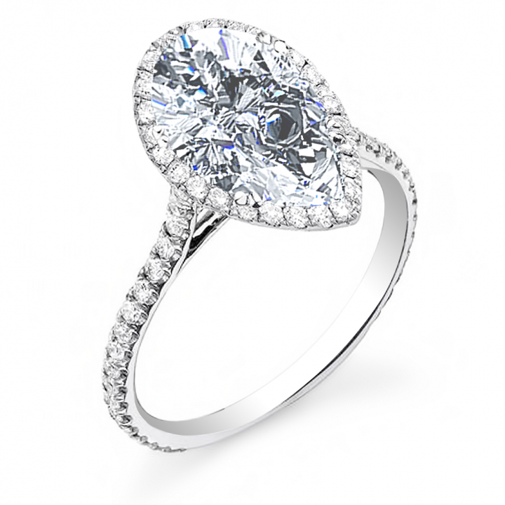 Celebrity Pear cut Engagement Rings