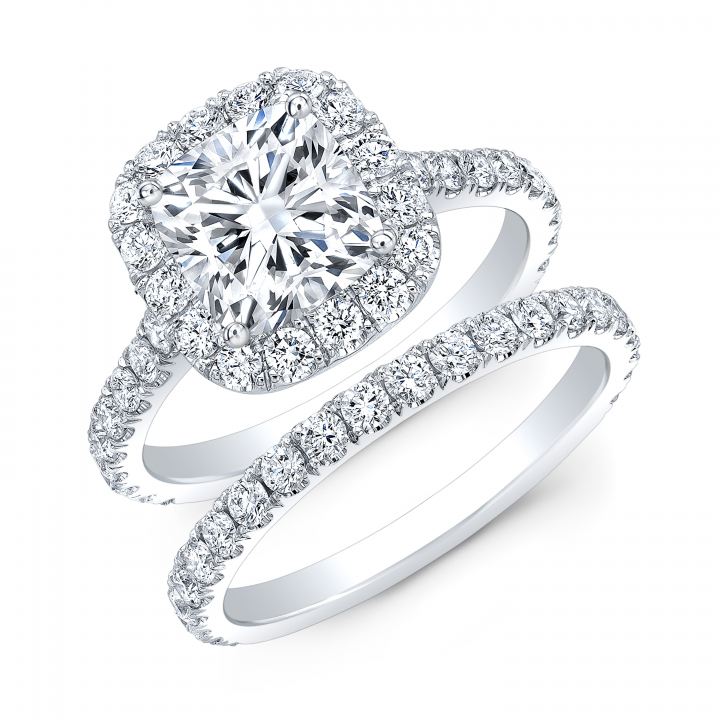 Classic Bridal Wedding Ring Sets